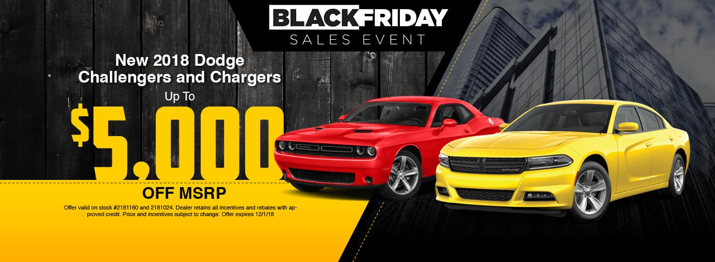2018 Dodge Challenger and Charger Special at Thomson Dodge in Thomson, GA