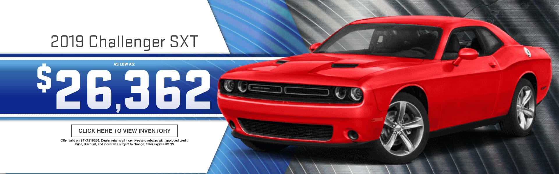 2019 Dodge Challenger Special at Thomson Dodge in Thomson, GA