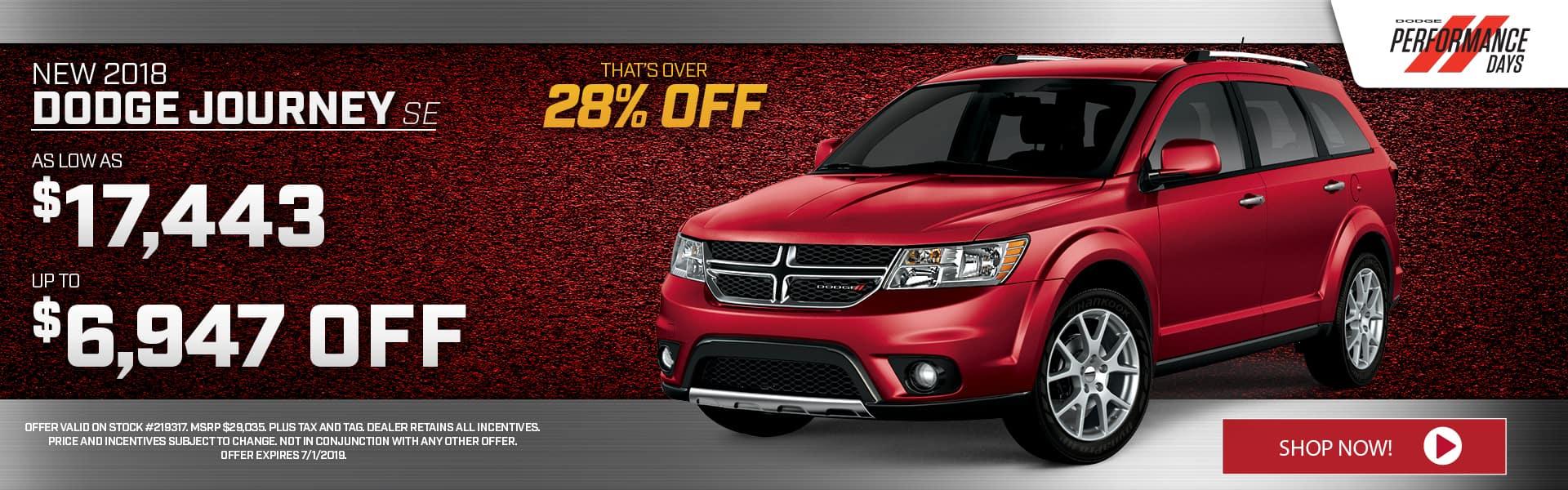 New Dodge Journey for Sale near Augusta, GA