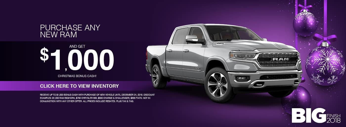 Buy a new Ram today at Thomson RAM in Thomson, GA