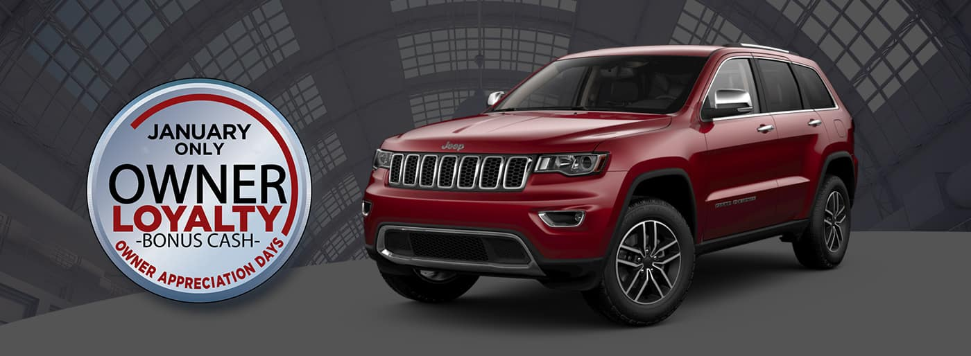 Jeep Only Owner Loyalty Bonus Cash at Thomson Jeep in Thomson, GA