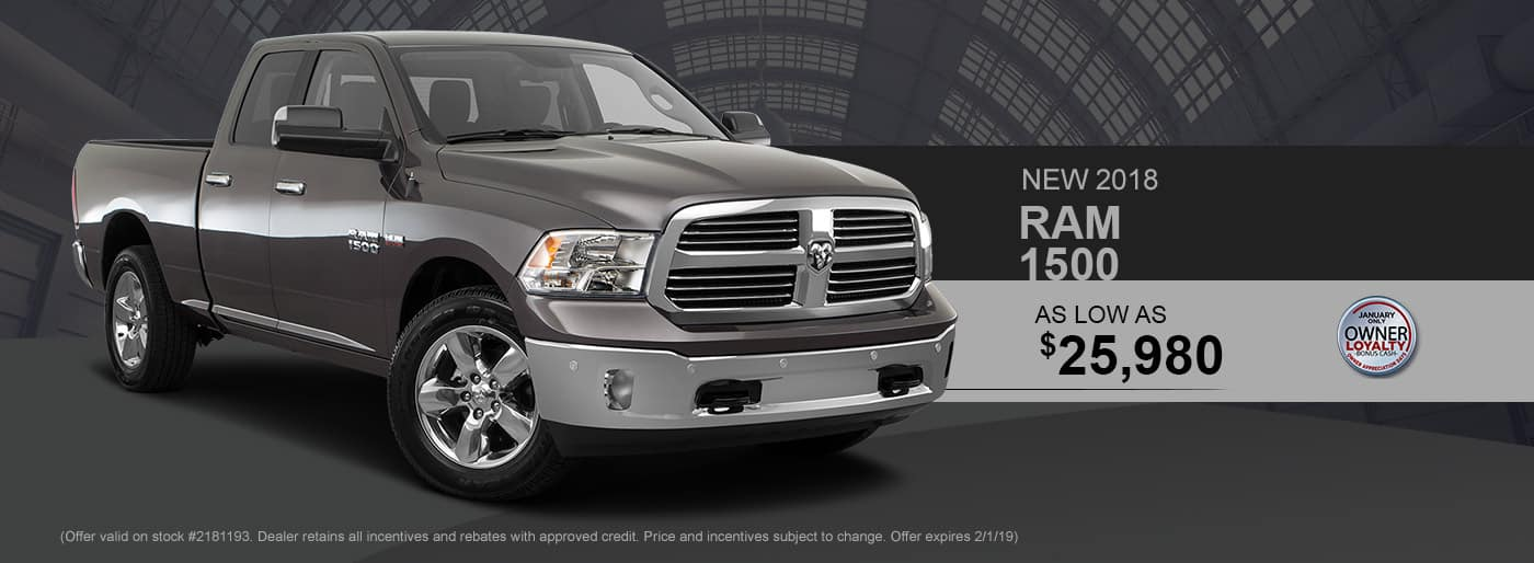 2018 RAM 1500 Special at Thomson RAM in Thomson, GA