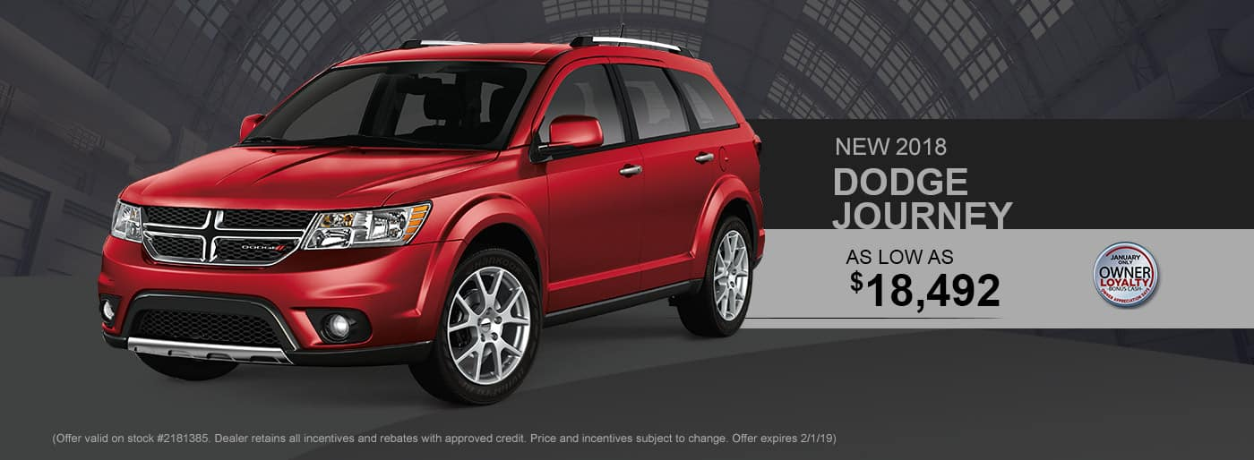 2018 Dodge Journey Special at Thomson Dodge in Thomson, GA