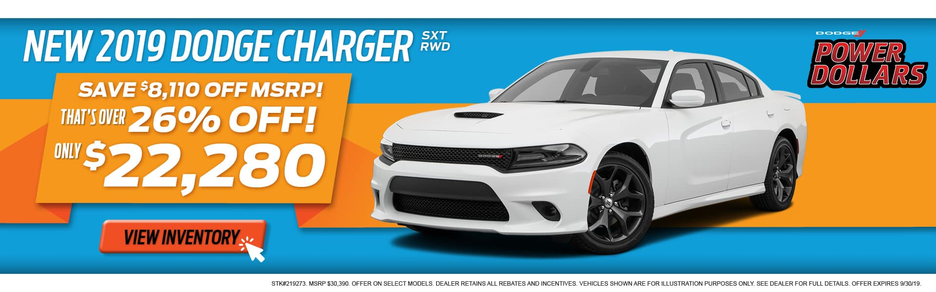 2019 Dodge Charger Special at Thomson Dodge in Thomson, GA