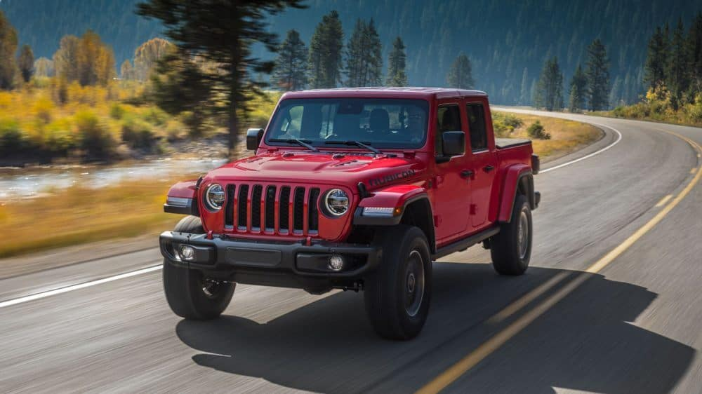 Trim Levels of the 2020 Jeep Gladiator | Thomson Chrysler ...
