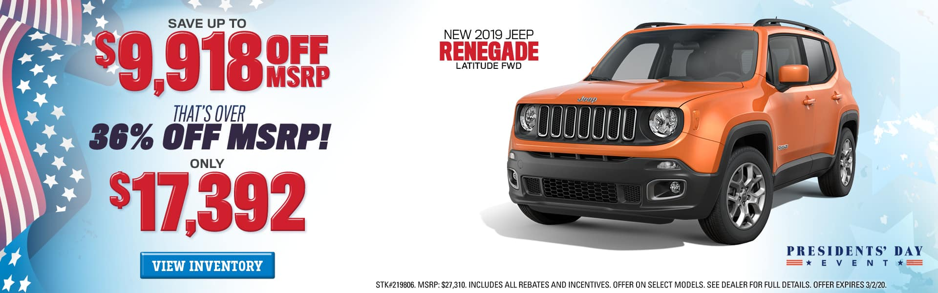 New Jeep Renegade for Sale near Augusta, GA