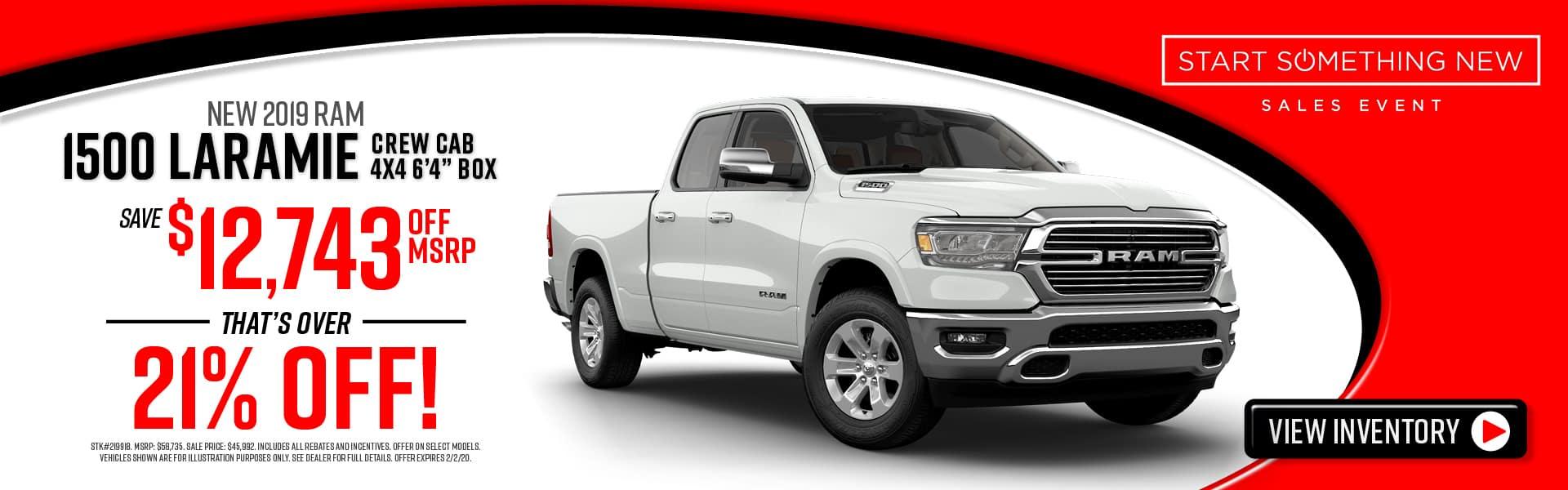 New 2019 RAMs for Sale near Augusta, GA