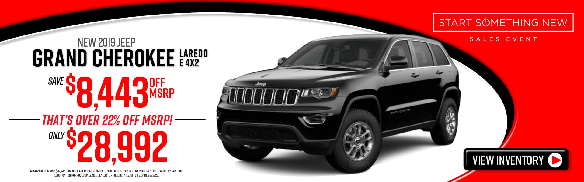 2019 Jeep Grand Cherokee special in Atlanta, GA