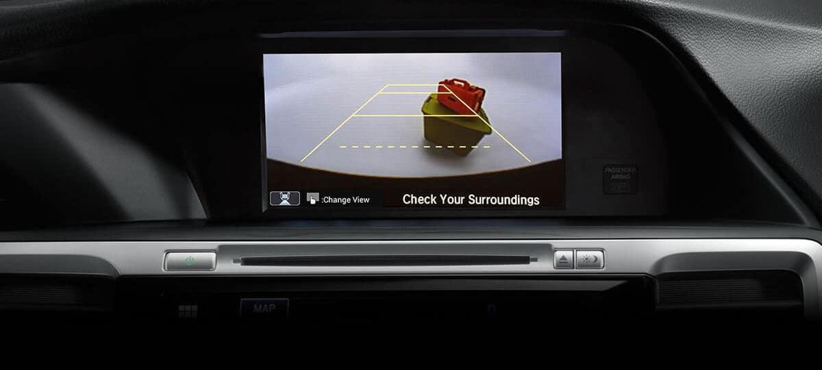 2017 Honda Accord Sedan Touring Screen Backup Camera