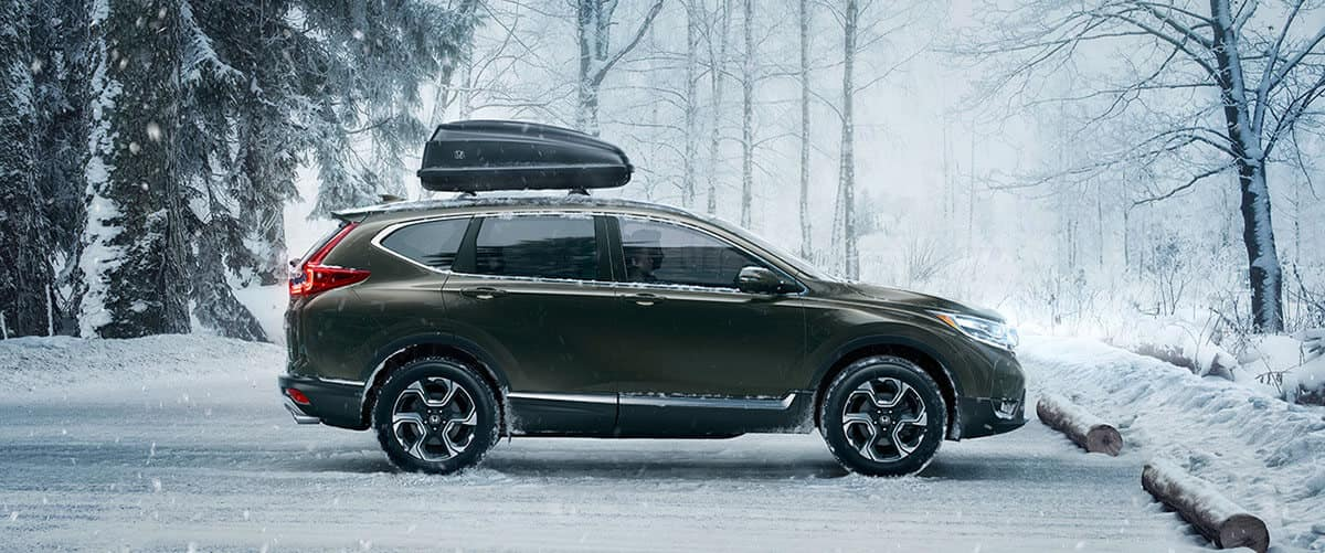2017 Honda CR-V side view