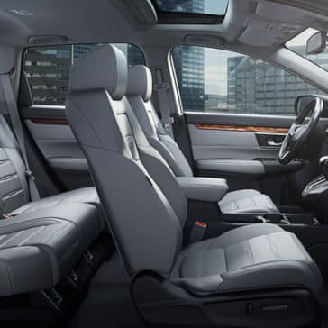 2017 Honda CR-V interior seating