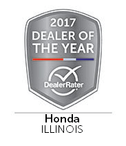 2017 Dealer of the Year Dealer Rater