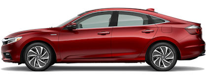 2019 Honda Insight Red