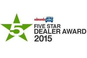 Edmunds Five Star Dealer Award 2016