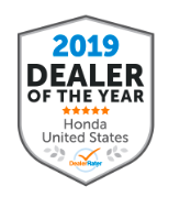 2019 Dealer of the Year Symbol