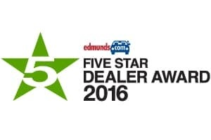 Edmunds Five Star Dealer Award 2016