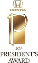 Presidents Award 2014
