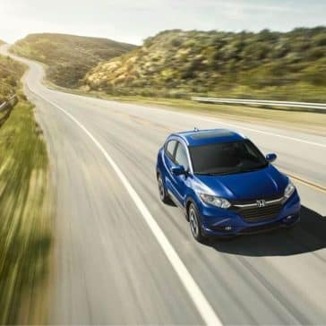 2018 Honda HR-V Driving