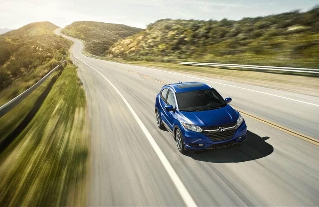 2018 Honda HR-V Driving