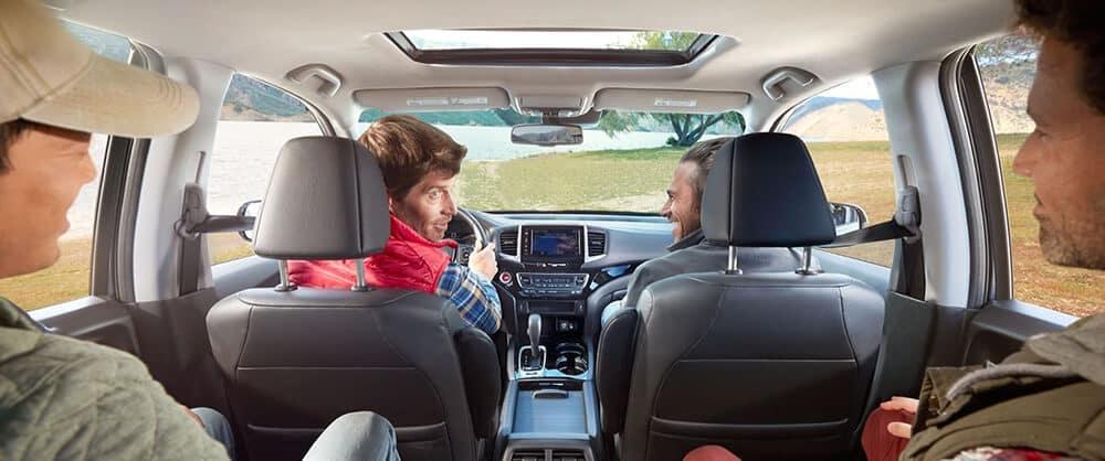 2018 Honda Ridgeline Passengers