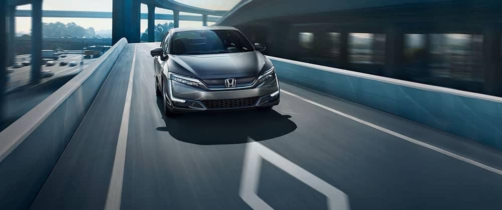 2017 Honda Clarity Electric Driving