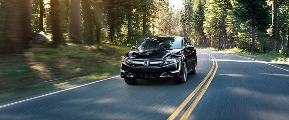 2018 Honda Clarity Plugin Hybrid Driving