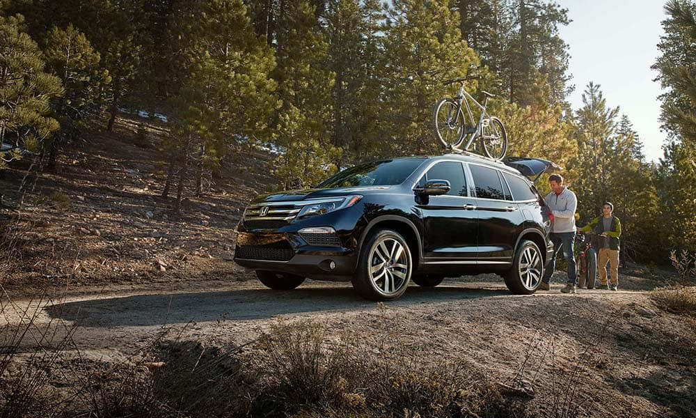 2018 Honda Pilot With Bike