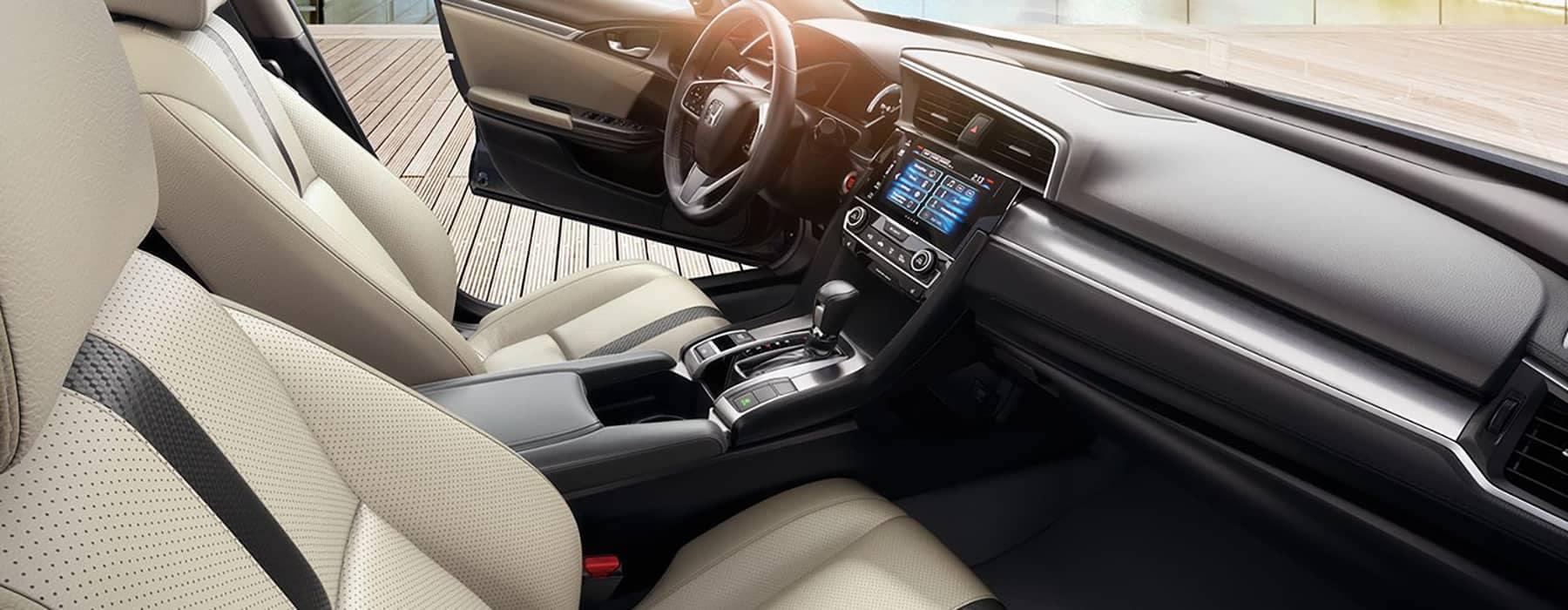 2018 Honda Civic Cabin