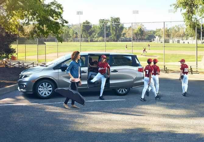 2019 Honda Odyssey With Team