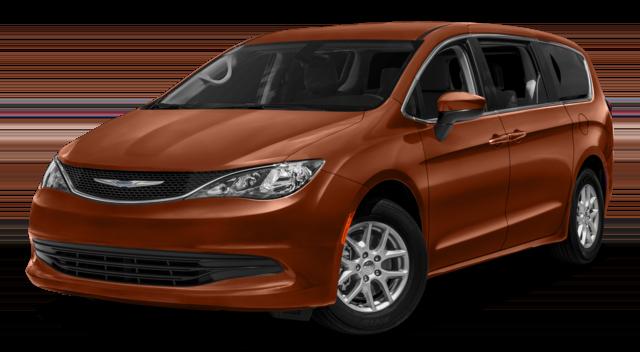 2018 Chrysler Pacifica Orange