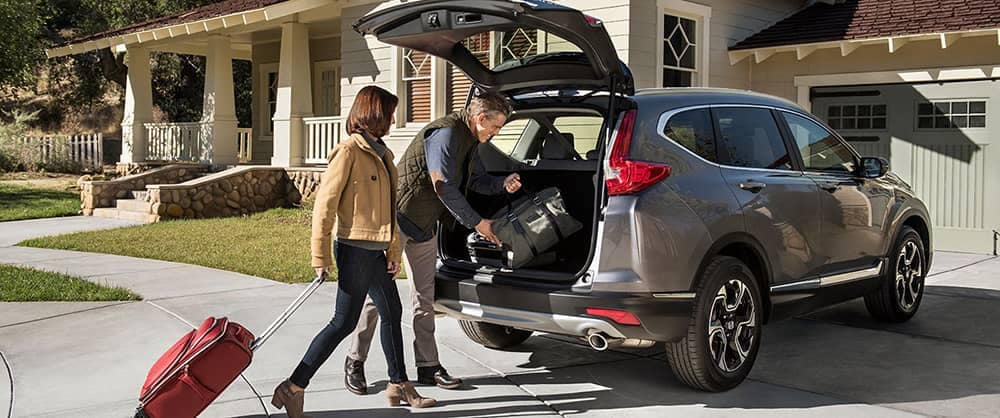 2018 Honda CR-V With Suitcases