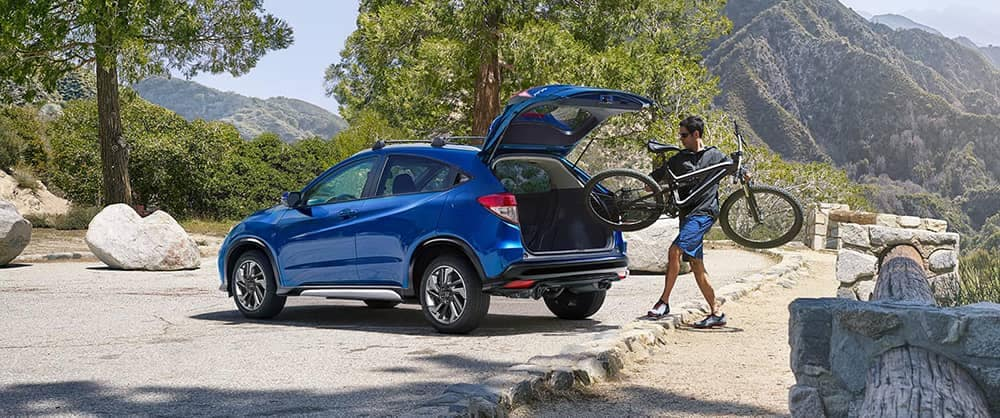 2019 Honda HR-V With Bike
