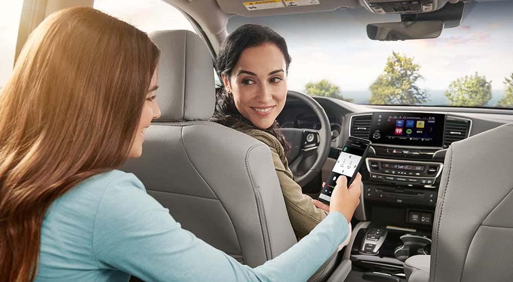 2019 Honda Pilot Smartphone