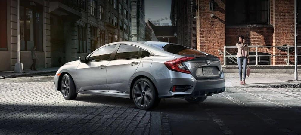 2019 Honda Civic turning
