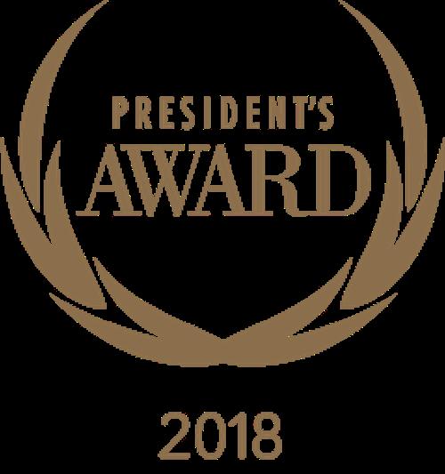 2018 Honda President's Award