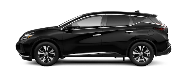 2019 Nissan Murano in profile