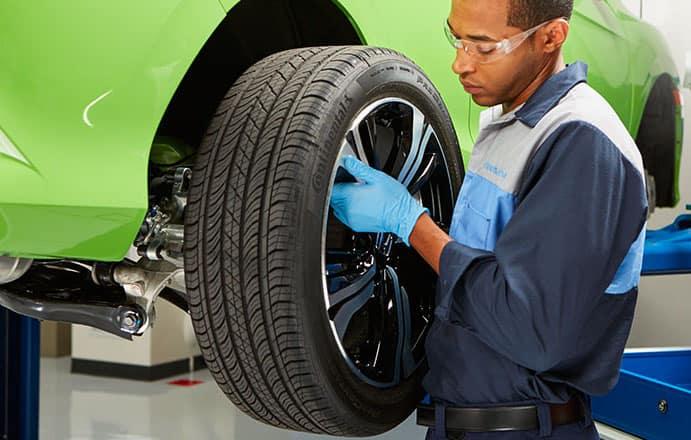 Honda Tire Rotation