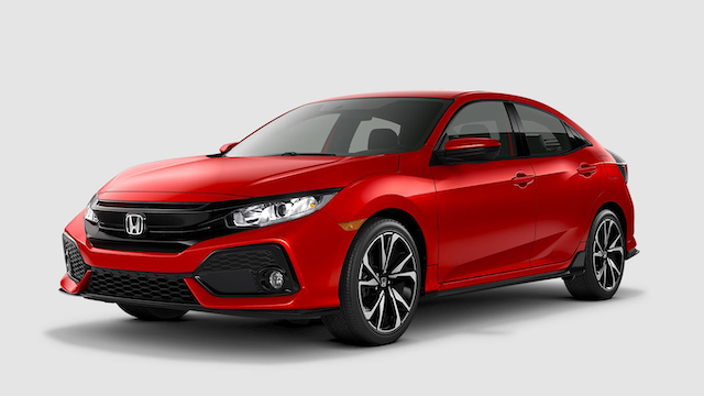 2019 Civic Hatchback Sport