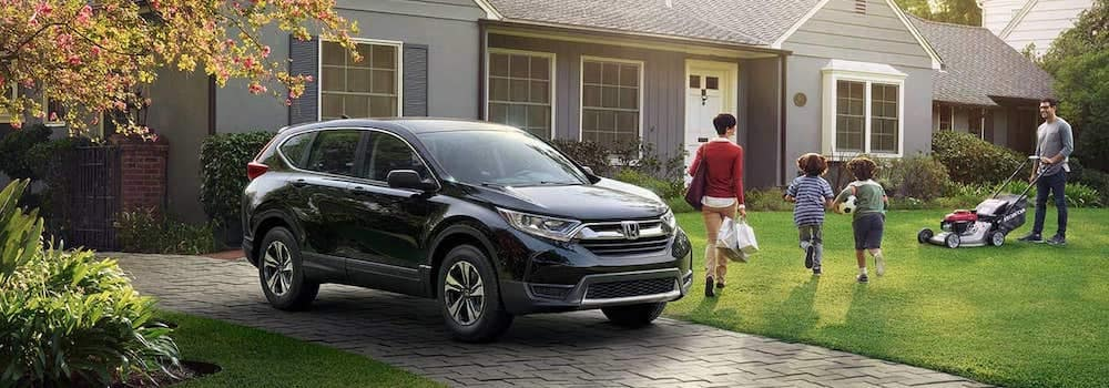 2019 Honda CR-V parked in a driveway