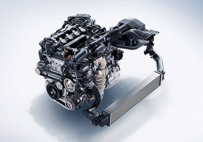 1.5L i-VTEC turbocharged engine