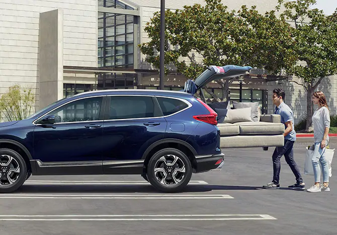Putting cargo in a 2019 CR-V