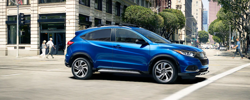 2019 Honda HR-V on the road