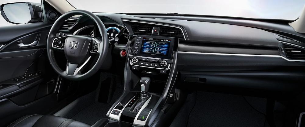 2019 Civic Sedan dash