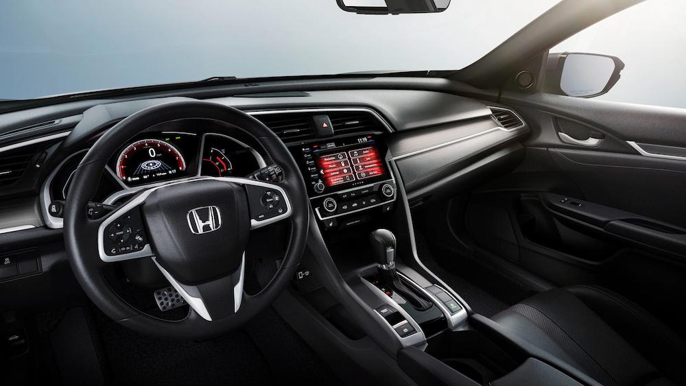 2020 Civic Hatchback front seats