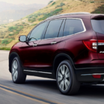 2020 Honda Pilot on a winding road