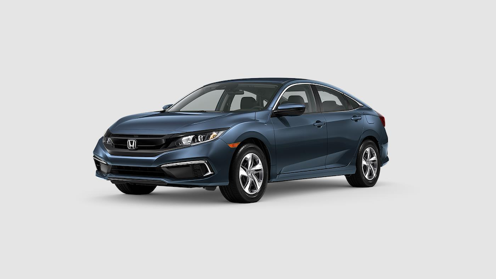 2020 Civic Sedan Cosmic Blue Metallic