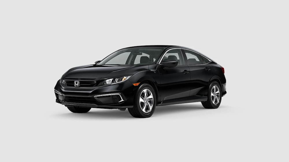 2020 Civic Sedan Crystal Black Pearl