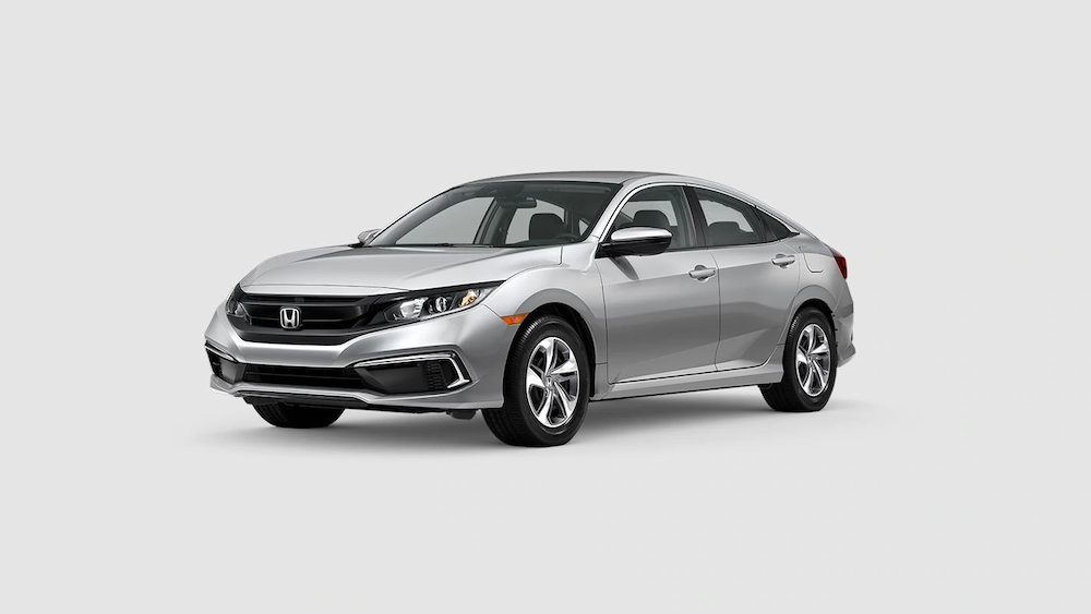 2020 Civic Sedan Lunar Silver Metallic