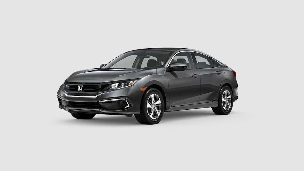 2020 Civic Sedan Modern Steel Metallic