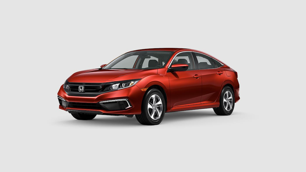 2020 Civic Sedan Molten Lava Pearl